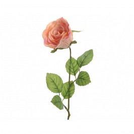 Mű rózsa narancssárga, 45 cm