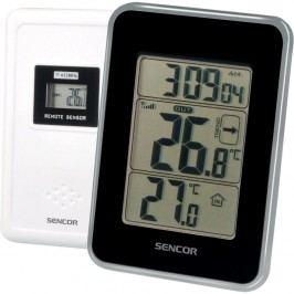Sencor SWS 25 BS Hőmérő vezeték nélküli érzékelővel, fekete
