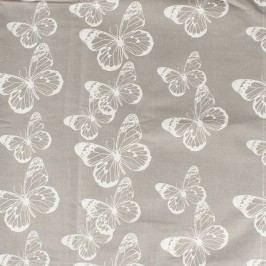 Dakls Butterfly mosható textil terítő , 145 x 145 cm