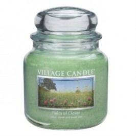 Village Candle illatgyertya Zöld mező - Fields of Clover, 397 g