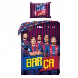 FCB Barca pamut ágynemű, 140 x 200 cm, 70 x 90 cm