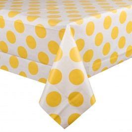 Körök terítő sárga, 130 x 180 cm