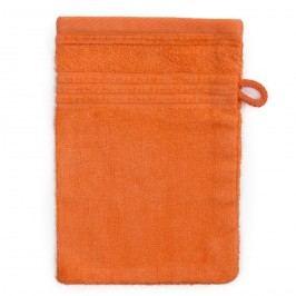 Jahu Bambusz mosdókendő narancssárga, 14 x 22 cm