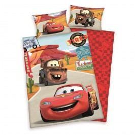 Herding Cars gyerek pamut ágyneműhuzat a kiságyba, 100 x135 cm, 40 x 60 cm