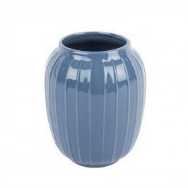 Lucy elegáns váza kék, 18 cm