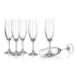 Banquet Crystal Leona Pezsgős poharak 210 ml, 6 db