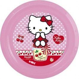 Banquet Hello Kitty műanyag tányér 22 cm