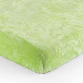 Mikroplüss lepedő zöld, 90 x 200 cm, 90 x 200 cm