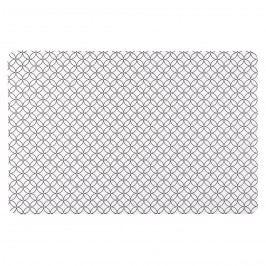 Koopman Modern alátétek fehér, 28 x 43 cm, 4 db
