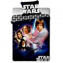 Jerry Fabrics Star Wars 01 gyerek pamut ágyneműhuzat, 140 x 200 cm, 70 x 90 cm