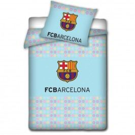 Tip Trade Gyerek pamut ágyneműhuzat a kiságyba FC Barcelona light, 100 x 130 cm, 40 x 60 cm