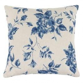 Bellatex Ivo rózsa kispárna kék, 45 x 45 cm