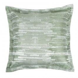 Bellatex Zita kispárna vonalak zöld, 50 x 50 cm
