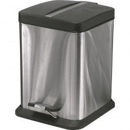 Rozsdamentes acél szögletes kosár 6 l