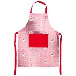 Country kötény piros kockás, 60 x 80 cm