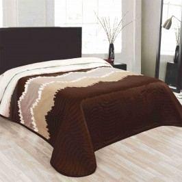 Forbyt Celiné ágytakaró barna, 140 x 220 cm