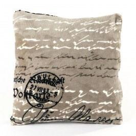 Jahu Mikroplüss Postcard kispárna, 40 x 40 cm