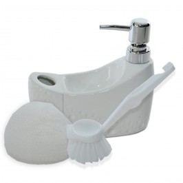 Pearl szappanadagoló, fehér