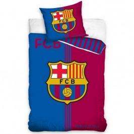 TipTrade FC Barcelona Címer pamut ágyneműhuzat, 140 x 200 cm, 70 x 90 cm
