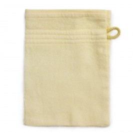 Jahu Bambusz mosdókendő bézs, 14 x 22 cm