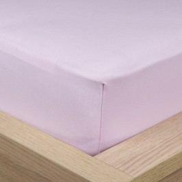 4Home Jersey lepedő elasztánnal lila, 90 x 200 cm