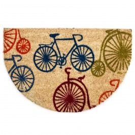 Bicykles félkör lábtörlő, 40 x 60 cm