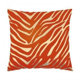 Bellatex Leona kispárna zebra narancssárga, 45 x 45 cm