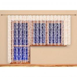 4Home Terezie függöny, 300 x 175 cm, 300 x 175 cm