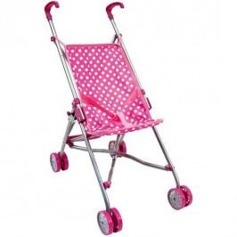 Bino sport babakocsi játékbabának, rózsaszín