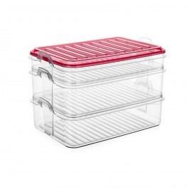 Banquet EASY CLICK műanyag ételtároló 3 db-os szett