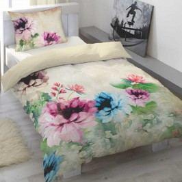 Lotus Garden szatén ágyneműhuzat, 140 x 200 cm, 70 x 90 cm