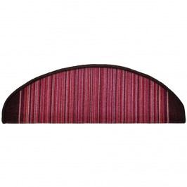 Carnaby lépcsőszőnyeg, lila, 24 x 65 cm