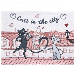 Alátét Macskák a városban, 33 x 45 cm