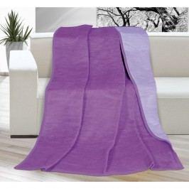 Bellatex Kira pléd lila/világos lila, 150 x 200 cm