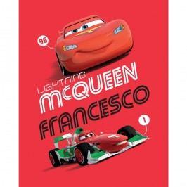 Jerry Fabrics Cars Francesco 2014 gyerek pléd, 120 x150 cm