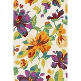 Habitat Bonita flowers darabszőnyeg 282/52 többszínű, 80 x 150 cm, 80 x 150 cm