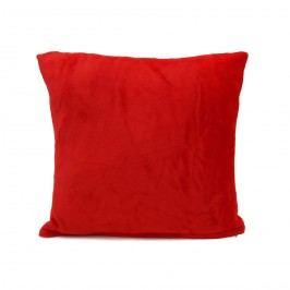 Jahu Mikroplüss párna New piros, 40 x 40 cm