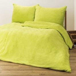 4Home mikroflanel ágyneműhuzat zöld