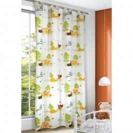 Róka gyerek függöny, 135 x 245 cm