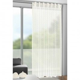 Calli függöny akasztópántokkal, bézs, 140 x 245 cm