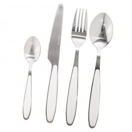 Cutlery 16 db-os evőeszköz készlet, fehér