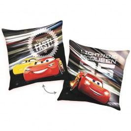 Cars McQueen Fast párna, 40 x 40 cm