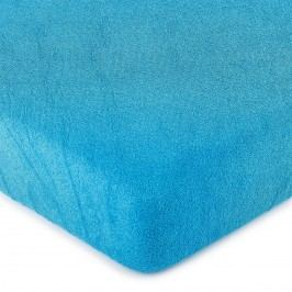 4Home frottír lepedő kék, 180 x 200 cm