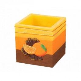 Dekoratív lampion Fahéj és narancs, hasáb