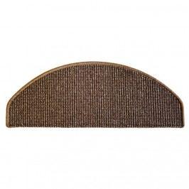 Barcelona lépcsőszőnyeg barna, 28 x 65 cm