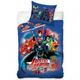 Tip Trade Justice League gyerek pamut ágyneműhuzat, 140 x 200 cm, 70 x 80 cm