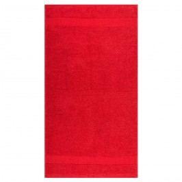 Night in Colours Olivia törölköző, piros, 50 x 90 cm