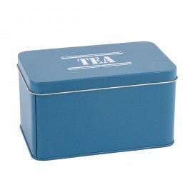 Fém tárolódoboz Tea, sӧt. Kék