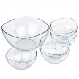 Vira 7 részes üvegtál készlet