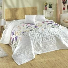 Bedtex Nergiz ágytakaró lila, 220 x 240 cm, 2x 40 x 40 cm